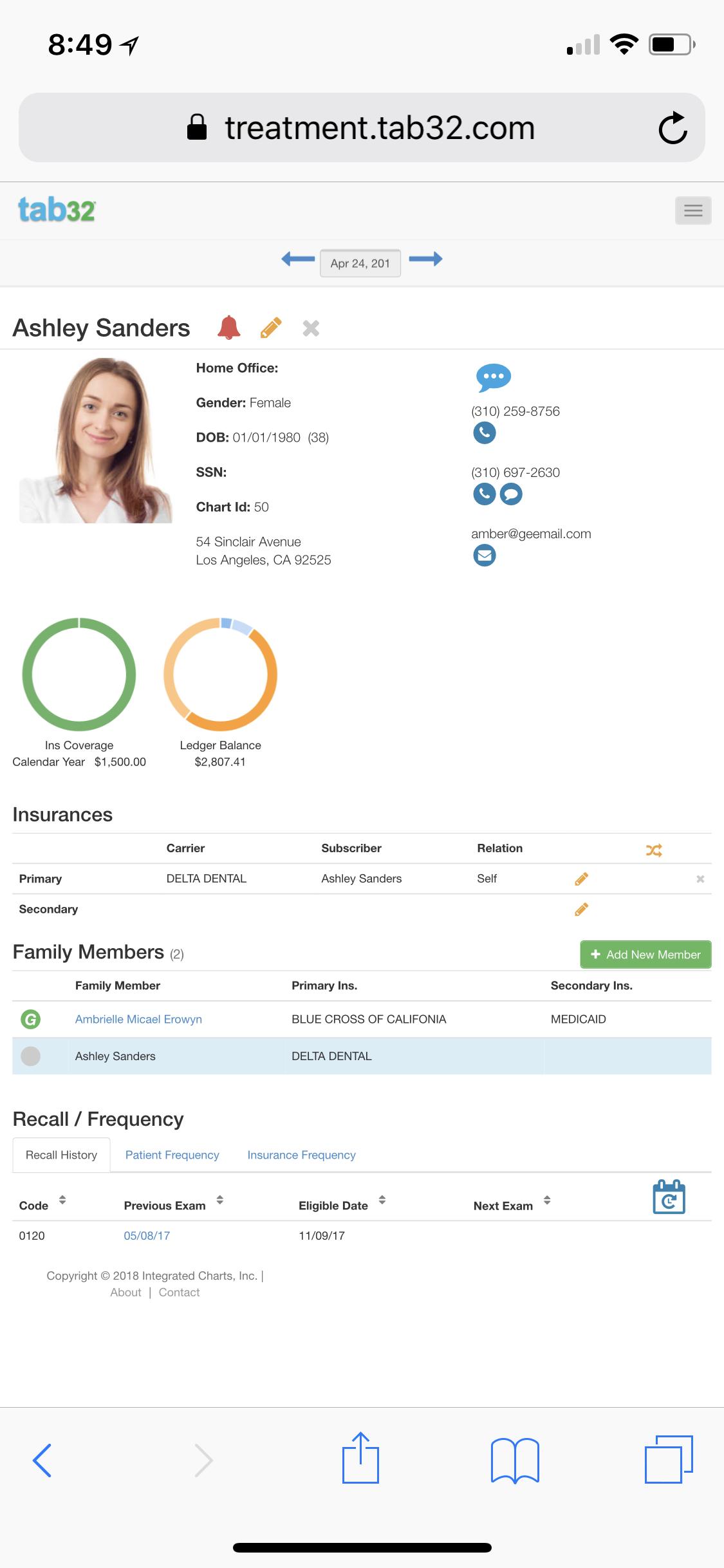 EHR_Patient_Profile
