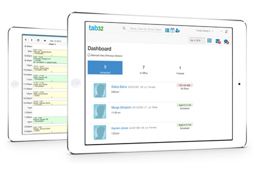 Patient Appointments and Scheduling - Cloud Dental Software