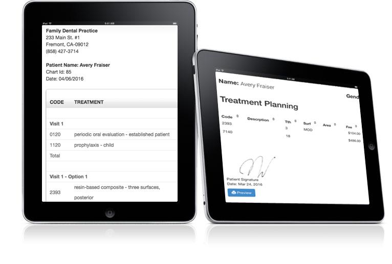 Treatment Planning - Cloud Dental Software