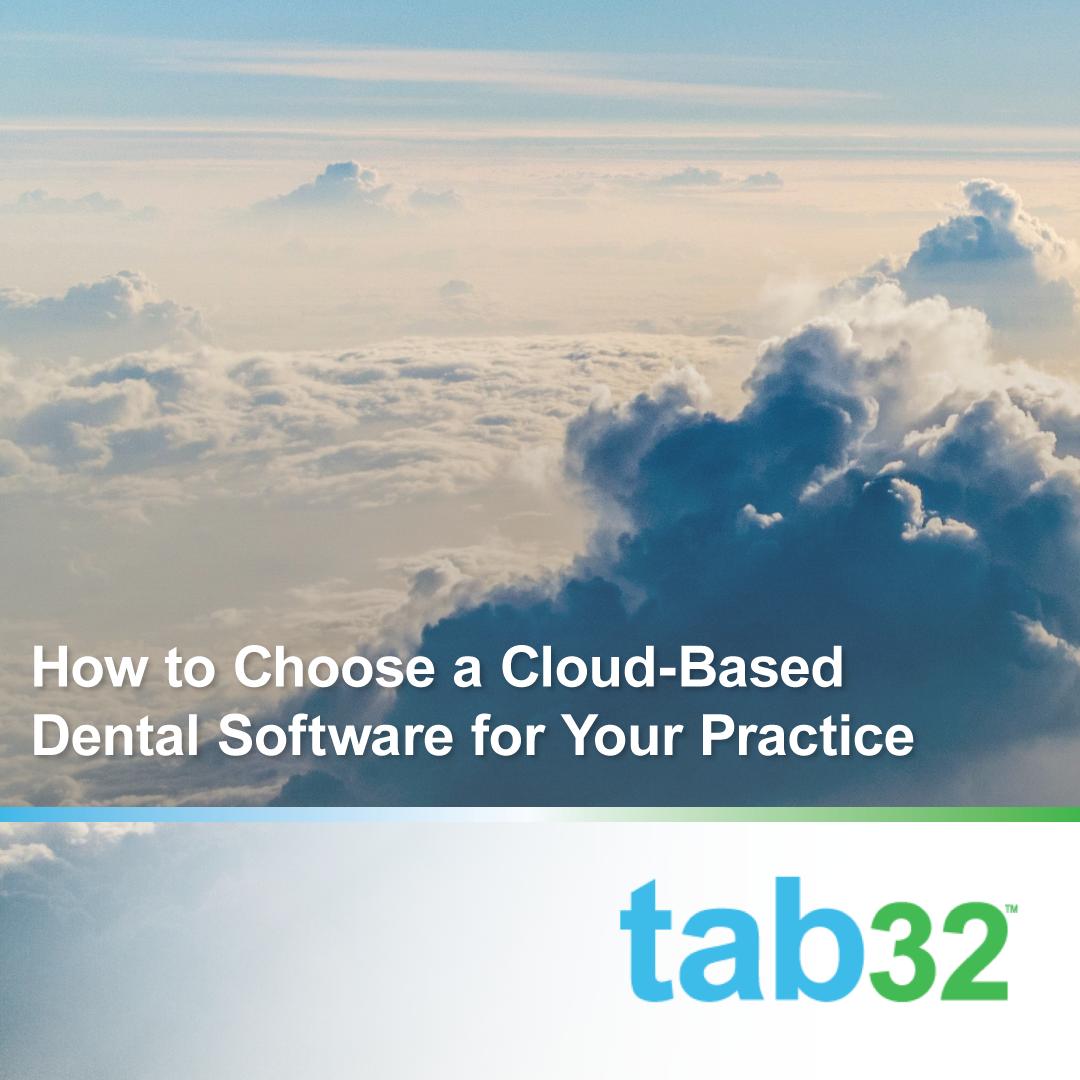 choosing a cloud-based dental software system