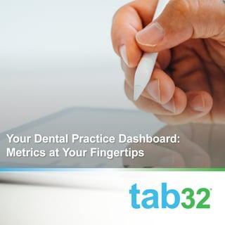 your dental practice dashboard
