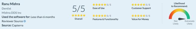 Cloud Dental EHR Customer Review