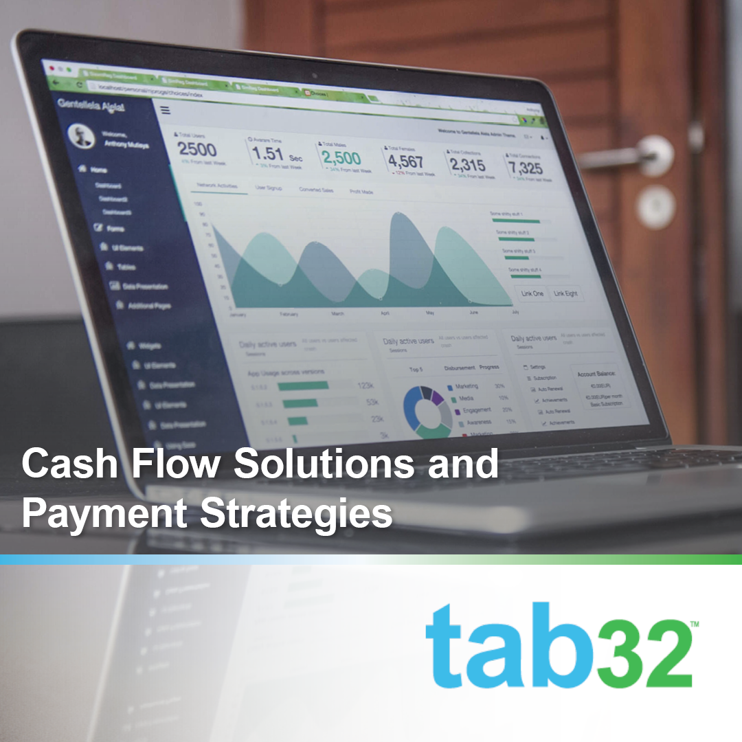 Cash Flow Solutions and Payment Strategies